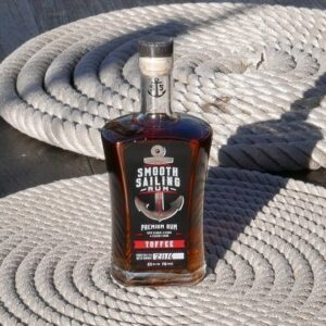 Smooth Sailing Rum on Boat